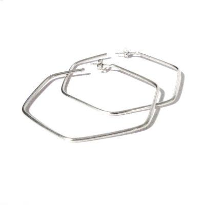melda-hexagon-hoops-polished