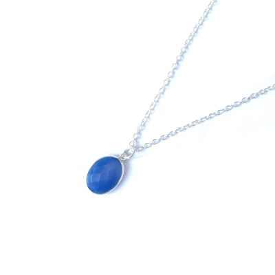 Matahina-Royal-Blue-Chalcedony-925-Pendant-