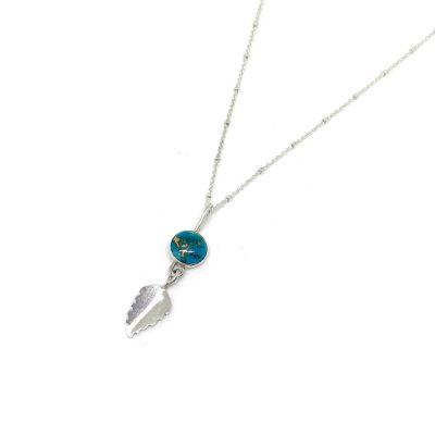 Copper-Turquoise-Leaf-Pendant-