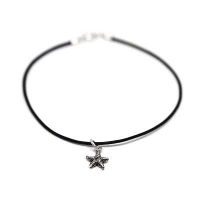 Becky-Starfish-Leather-Bracelet-