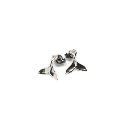 Tamure-Whale-Tail-Studs-