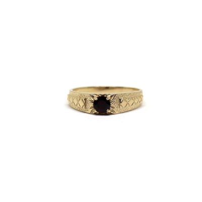 Garnet-Carved-Ring-