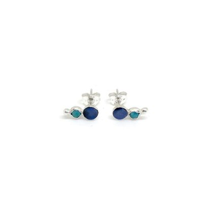 One-Of-A-Kind-Opal-&-Turquoise-Curve-Studs-